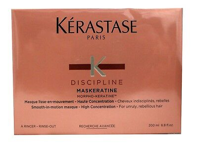 Kerastase Discipline Masque Maskeratine 200Ml Or 6 8Oz Mask    Sealed In Box
