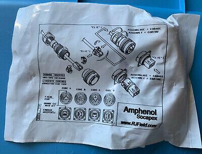 Rjf6g Amphenol Socapex Conn Rj-45 Pl 8 Pos St Cable Mt 8 Terminal 1 Port Cat 5e