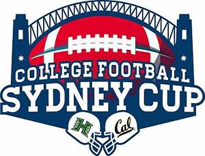 6 x Silver Tickets College Football Sydney Cup: Cal v Hawaii O'Connor North Canberra Preview