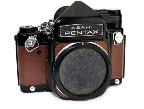 ASAHI Pentax 6X7 Replacement Cover, Laser Cut - Recycled Leather