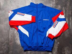 Adidas Aloxe Track Jacket Blue Men's Medium