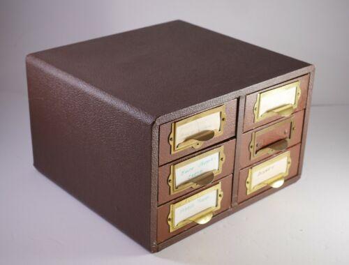 Barnett Jaffe Baja case 3D stereo slide storage 6 drawers NO SLIDES - HR1