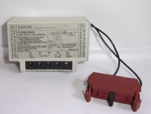 EATON CUTLER HAMMER C320MH2WH0 CONTROL MODULE  W/ 320AMH1 AUXILIARY CONTACT