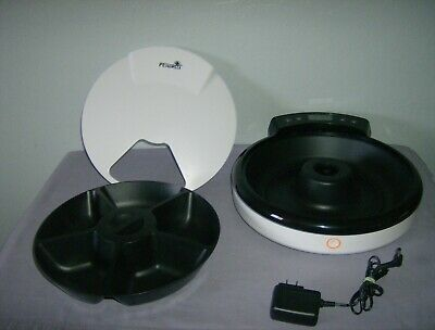 PETWANT  5-Meal Automatic Pet Feeder Used