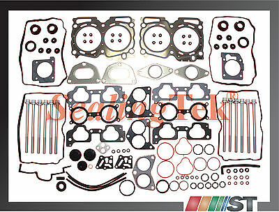 04-09 Subaru EJ25 SOHC Cylinder Head Gasket Set w/ Bolts Kit 2.5L engine motor