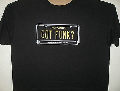GOT FUNK ? - BLACK EXTRA LARGE NEW T SHIRT AAA BRAND 1301 COTTON FUNLADELIC