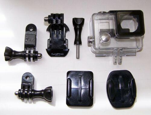 Genuine GoPro Hero 4,3,3+ waterproof housing case+spare parts