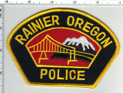 Rainier Police (Oregon) Shoulder Patch - new from the 1980