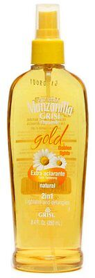 GRISI CHAMOMILE MANZANILLA GOLD SPRAY LOTION COLOR ENHANCE DETANGLING HAIR SOFT - Gold Hair Color Spray