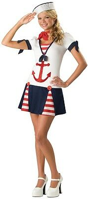 Teenage Girls Sailor Uniform Halloween Fancy Dress Costume Outfit 12-17 - Teenager Sailor Kostüm