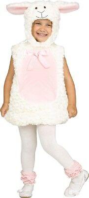 Baby Kleinkind Jungen Mädchen Flauschig Lamm Tier Büchertag Kostüm Kleid - Kleiner Junge Lamm Kostüm