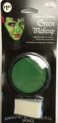 Fun World Cream to Powder Makeup for Halloween Costume Professional Quality