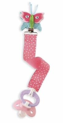 NEW MUD PIE BUTTERFLY BABY PACY CLIP HOLDERS BABY SHOWER GIFTS BOUTIQUE ITEMS