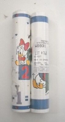Disney Mickey Mouse Wallpaper Border prepasted Kids Bedroom Nursery 30ft NOS