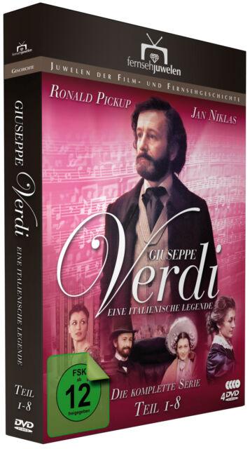 Giuseppe Verdi - Eine italienische Legende - Der 8-Teiler - Fernsehjuwelen DVD
