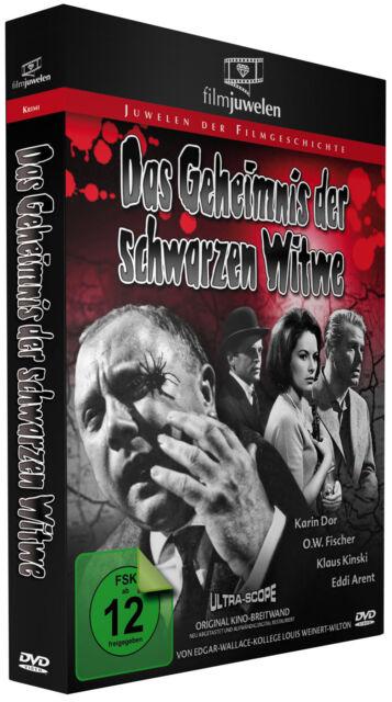 Das Geheimnis der schwarzen Witwe - Filmjuwelen DVD - mit Karin Dor/Klaus Kinski
