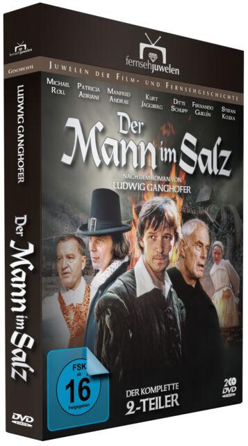 Der Mann im Salz (Alle 2 Teile) - nach Ludwig Ganghofer - Fernsehjuwelen DVD