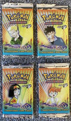 1st Edition Gym Heroes Factory Sealed Pokemon Booster Box Packs X4 Designs MINT comprar usado  Enviando para Brazil