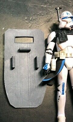 "Hasbro STAR WARS Black Series CLONE 6"" Figure SHIELD -"