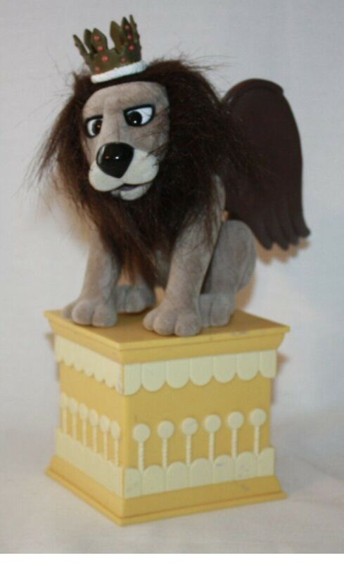 "Rudolph Island Misfit Toys King Moonracer Pedestal ""Throne"" Pedestal ONLY 3.75"""