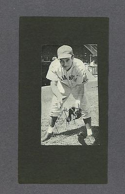 George Myatt Signed New York Giants Vintage Baseball Photo 1914 2000