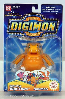 Digimon - Spinning Digi-Tops - Agumon - mit Sticker