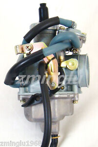 Carb-Honda-ATV-FourTrax-Recon-TRX250TM-TRX250TE-Carburetor-Free-Cable