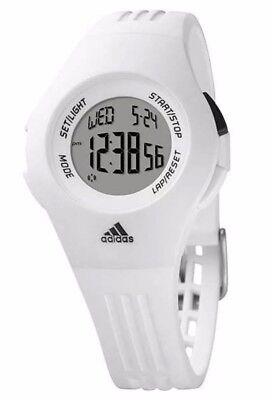 Adidas ADP6018 White Furano Classic Chronograph Sport Alarm Date Watch NWT
