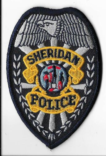 Sheridan Police Department, Wyoming Breast Patch