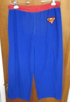 SUPERGIRL pajama pants med DC Comics embroidery logo sleepwear two-tone