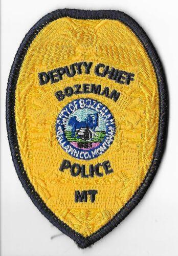 Bozeman Police Department, Montana Deputy Chief Breast Patch