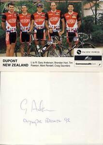 Autogramm Gary Anderson (Radsport) - Wien, Österreich - Autogramm Gary Anderson (Radsport) - Wien, Österreich
