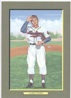 UNSIGNED  PEREZ STEELE GREAT MOMENTS CARD #82 EARLY WYNN - NrMt-Mt from sets