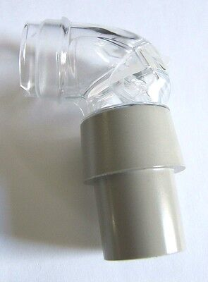 """""""Genuine Replacement"""" Resmed Mirage Quattro & Quattro FX Mask Elbow Assembly"""