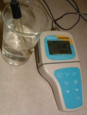 Oakton Pc 300 Ph Meter And Ph Probe
