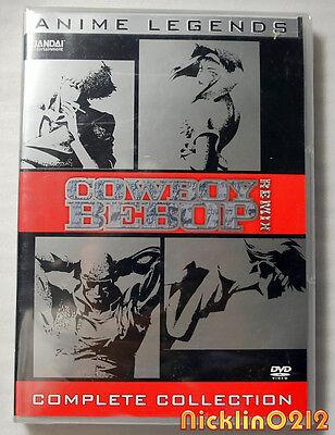 Cowboy Bebop   Remix  Complete Collection  Dvd  2008  6 Disc Set  Anime Legends