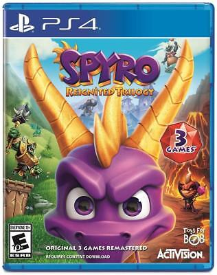 PLAYSTATION 4 SPYRO REIGNITED TRILOGY BRAND NEW FACTORY SEALED PHYSICAL GAME