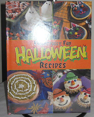 Frightfully Fun Halloween Recipes (2000, Hardcover) NEW Shrink - Fun Halloween Recipes