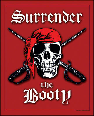 Pirates Surrender the Booty Blanket Beach Towel Bath Towel 54 x 68 Huge Towel