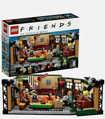 New Lego Ideas Central Perk Friends 21319 Television Series Cafe TV Studio Show