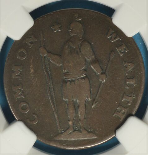 1788 Massachusetts Cent NGC F12BN- Period, Attractive Example