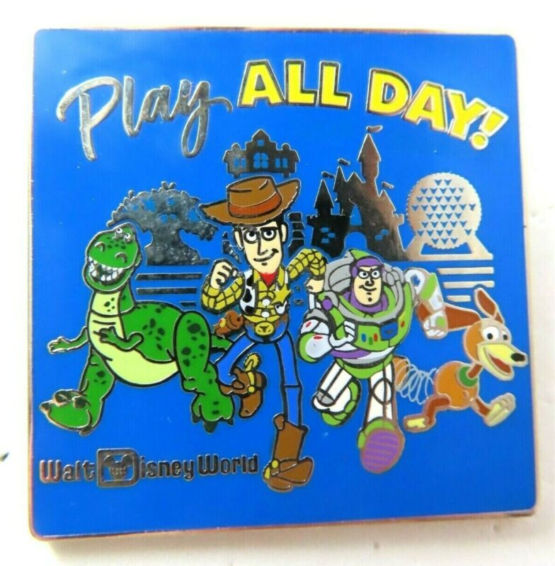 Disney Pin Toy Story Play All Day!