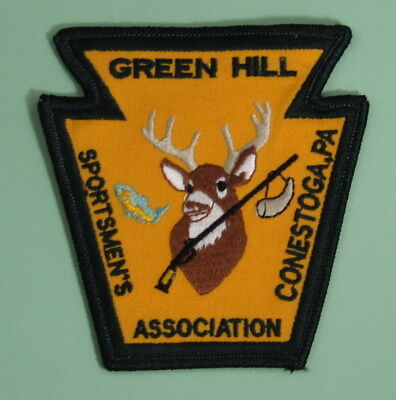 Pennsylvania PA Federation Of Sportsmen/'s Clubs Inc Patch Hunting Fish Trapping