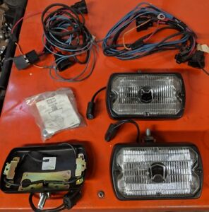 Marchal SEV 750 759 fog lights. Pair With Extra Parts