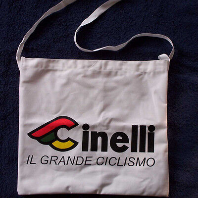 Cinelli Team Cycling Musette White