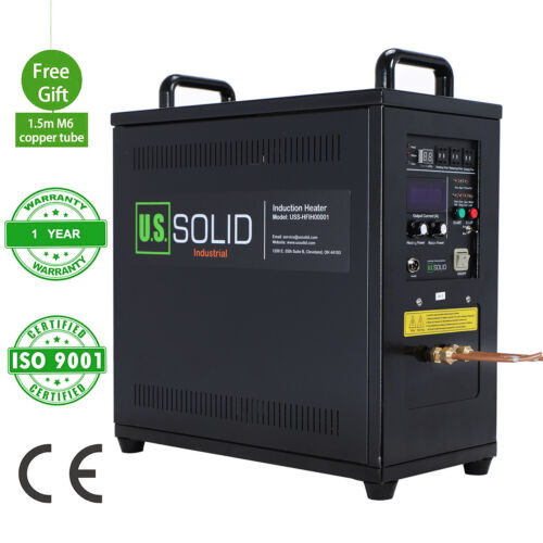 U.S. Solid 15KW 30-80KHz High Frequency Induction Heater Furnace LH-15A 220V