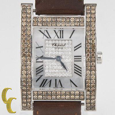 Chopard 18k White Gold Your Hour Ladies Quartz Diamond & MoP Watch #17/3451