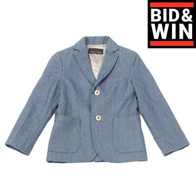 RRP €160 HARMONT & BLAINE JUNIOR Blazer Jacket Size S / 6Y Elbow Patches
