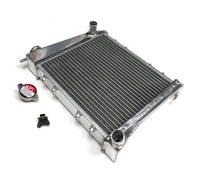 UNIVERSAL HOVERCRAFT BUGGY ATV QUAD RACING ALLOY RADIATOR TWIN CORE Y3275