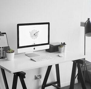 Black and white desk Southport Gold Coast City Preview